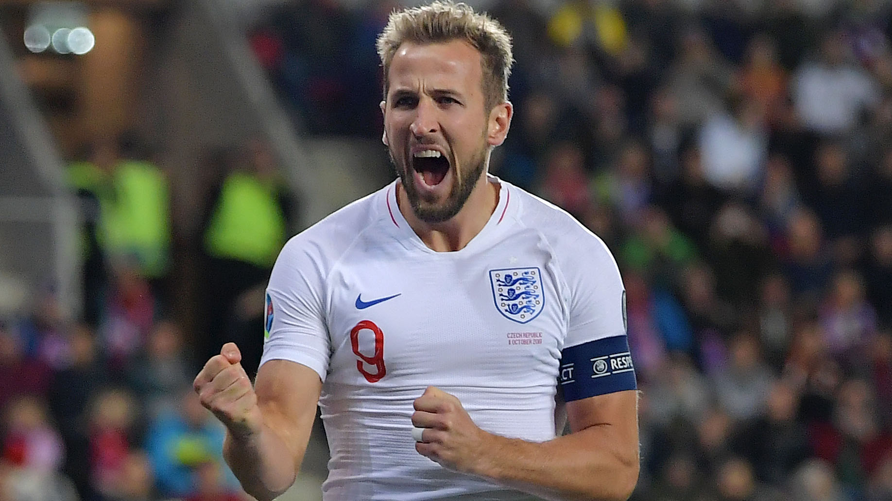 Kane becomes England's all-time highest scoring starting captain after Montenegro hat-trick