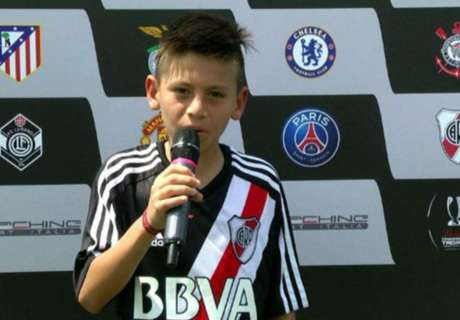 Quién es el pibe que bailó a Juventus