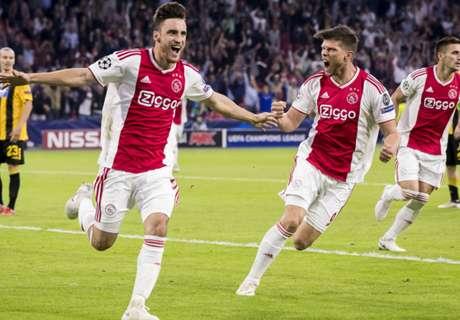 BL: Hozta a kötelezőt az Ajax, Szalaiék gólgazdag döntetlent játszottak