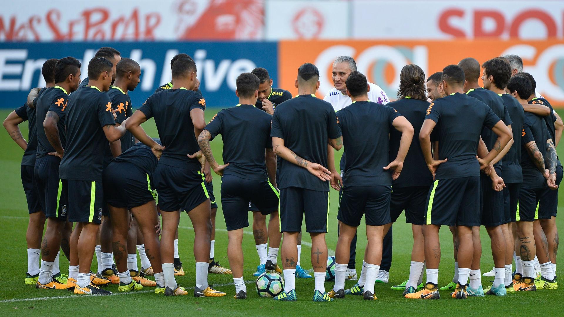 Seeção Brasil treino Tite 29 08 2017