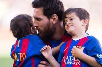Messi: Thiago is a good boy, Mateo a little terror!