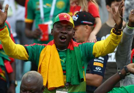 Sochi loved Cameroon over Germany