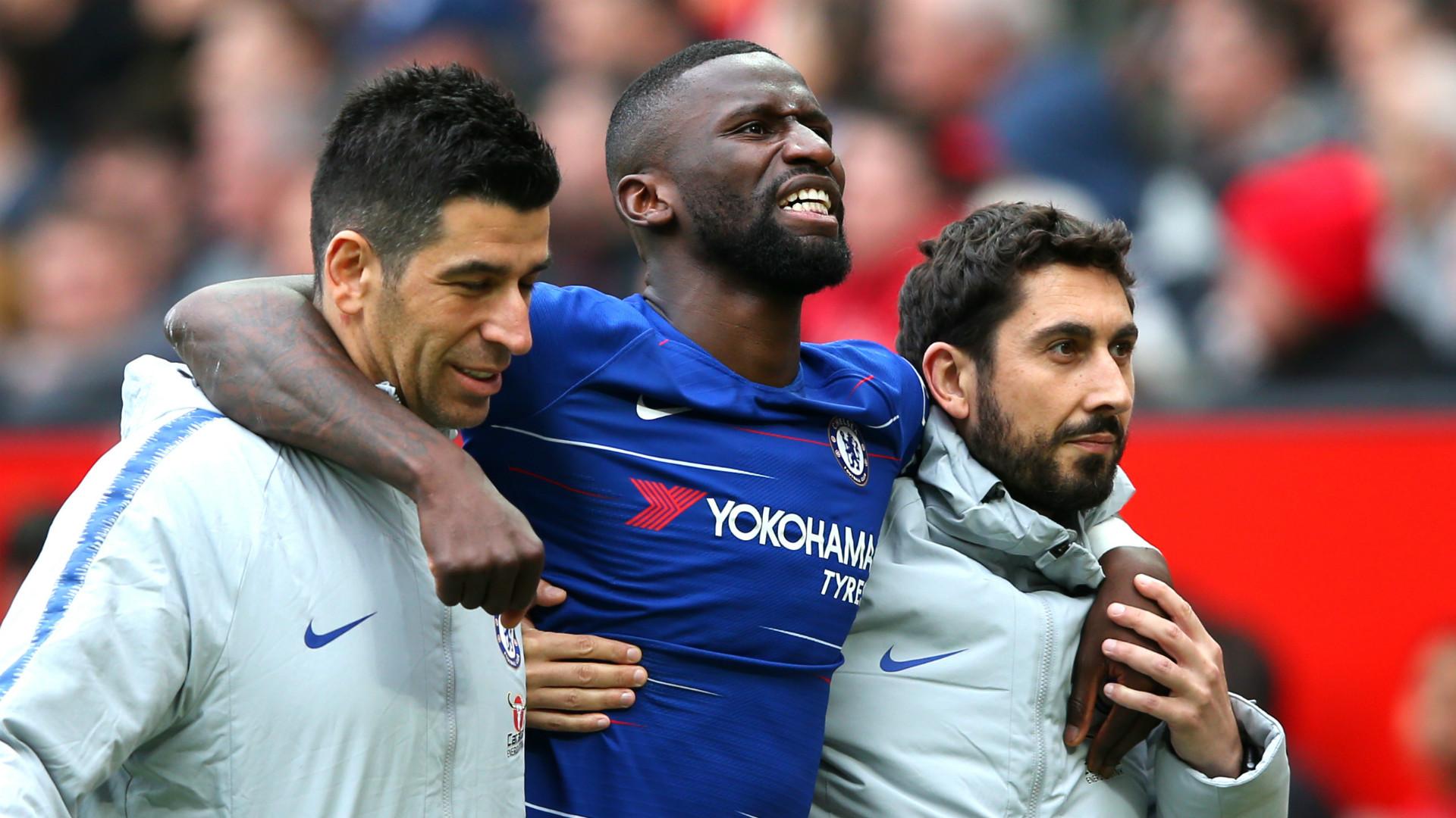 Lampard hopeful over Rudiger as Chelsea defender suffers fresh injury setback