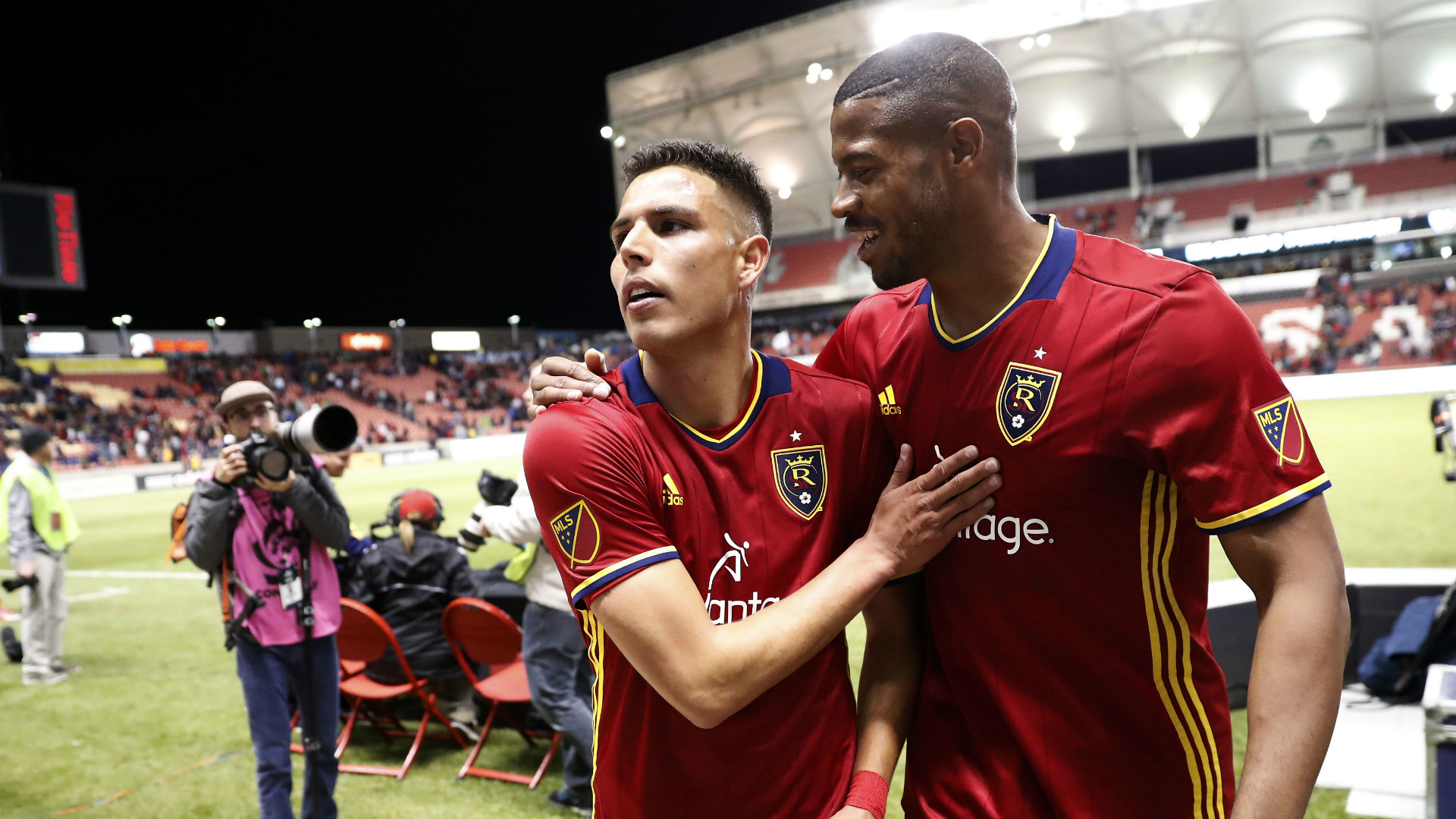 Luis Silva Chris Schuler Real Salt Lake