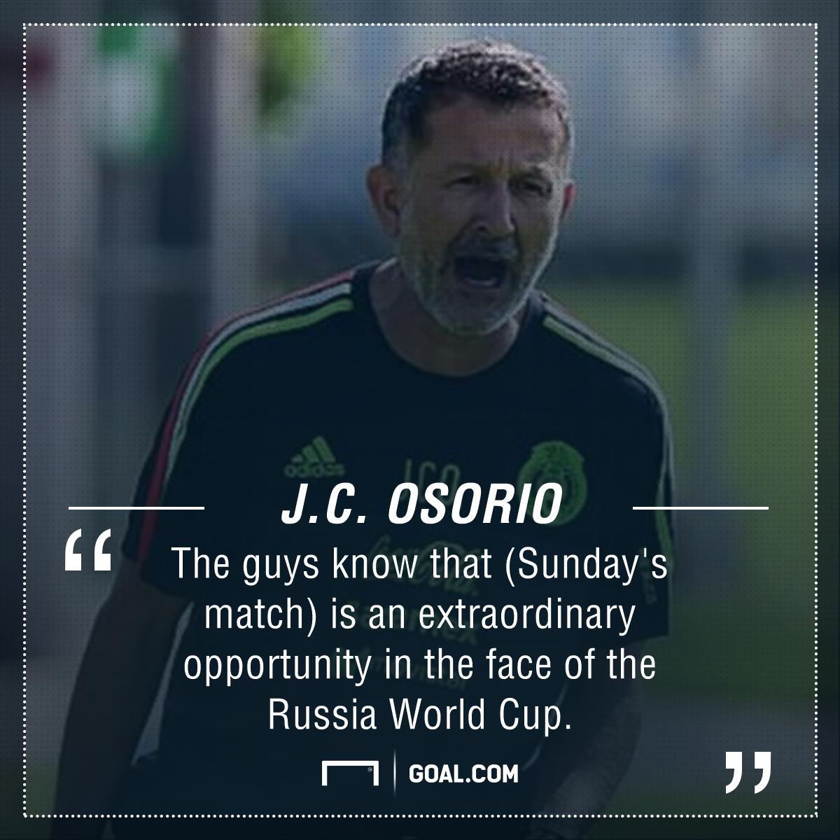 Osorio quote