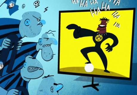 CARTOON: Batshuayi's message for racist fans