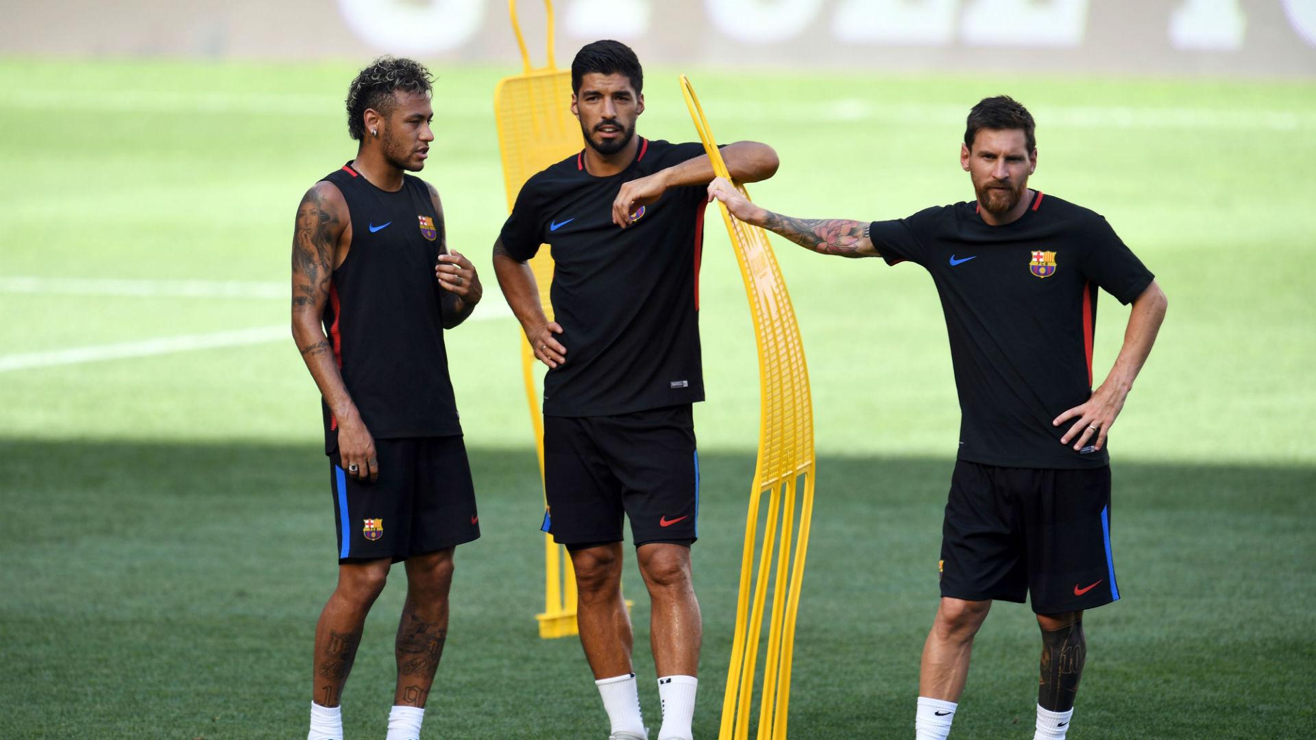 Fútbol: Messi le desea suerte a su