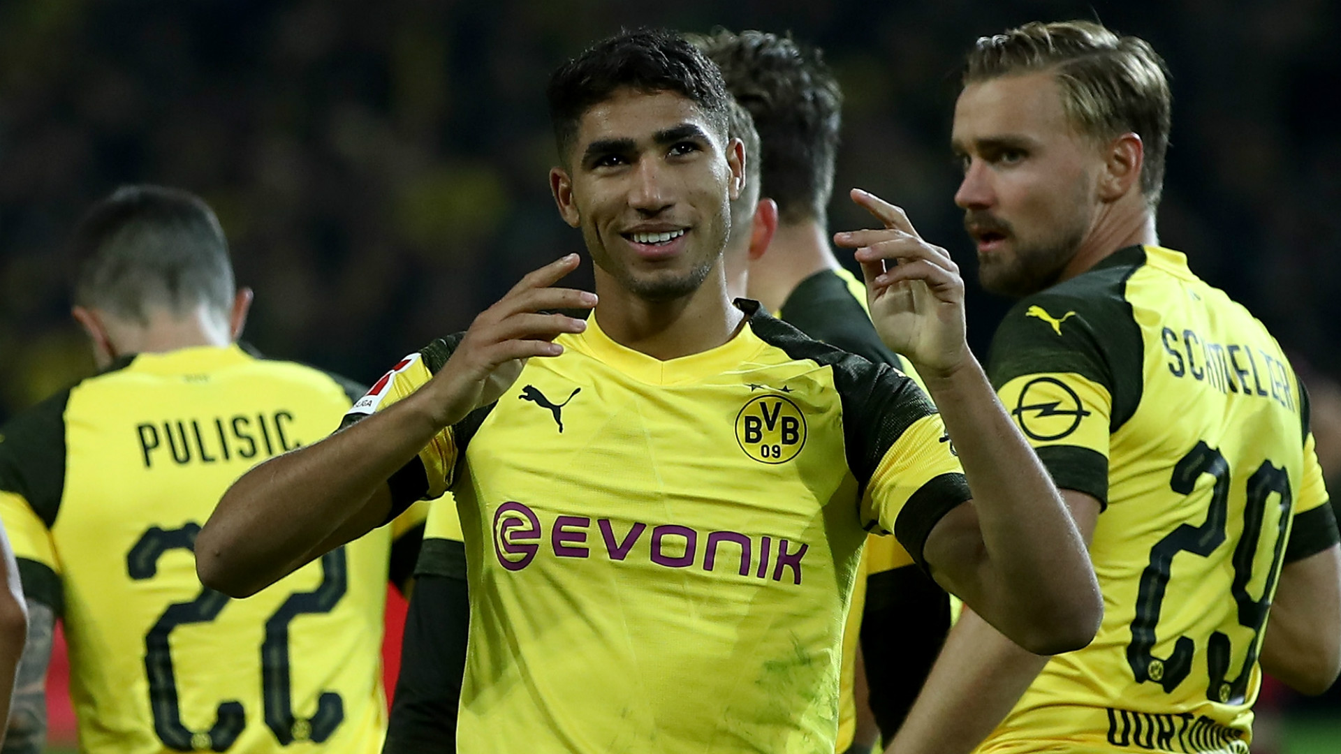 Hakimi needs another season at Borussia Dortmund – Real Madrid coach Zidane