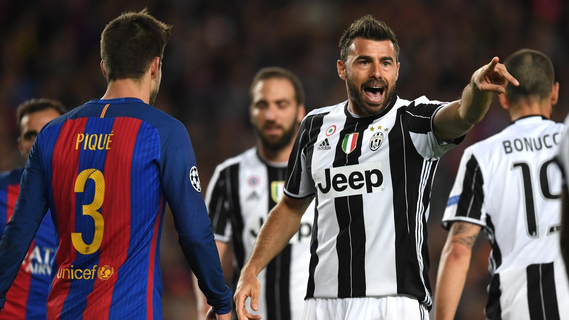 Andrea Barzagli Barcelona Juventus UCL 19042017