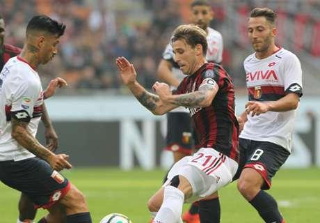 Notte fonda Milan: pari anche col Genoa