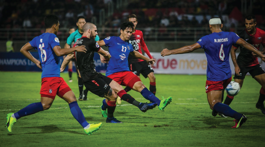 Fadhli Shas Johor Darul Ta'zim (JDT) v Bangkok United Asian Champions League qualifier