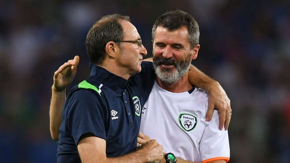 Martin O'Neill Roy Keane Republic of Ireland 22062016