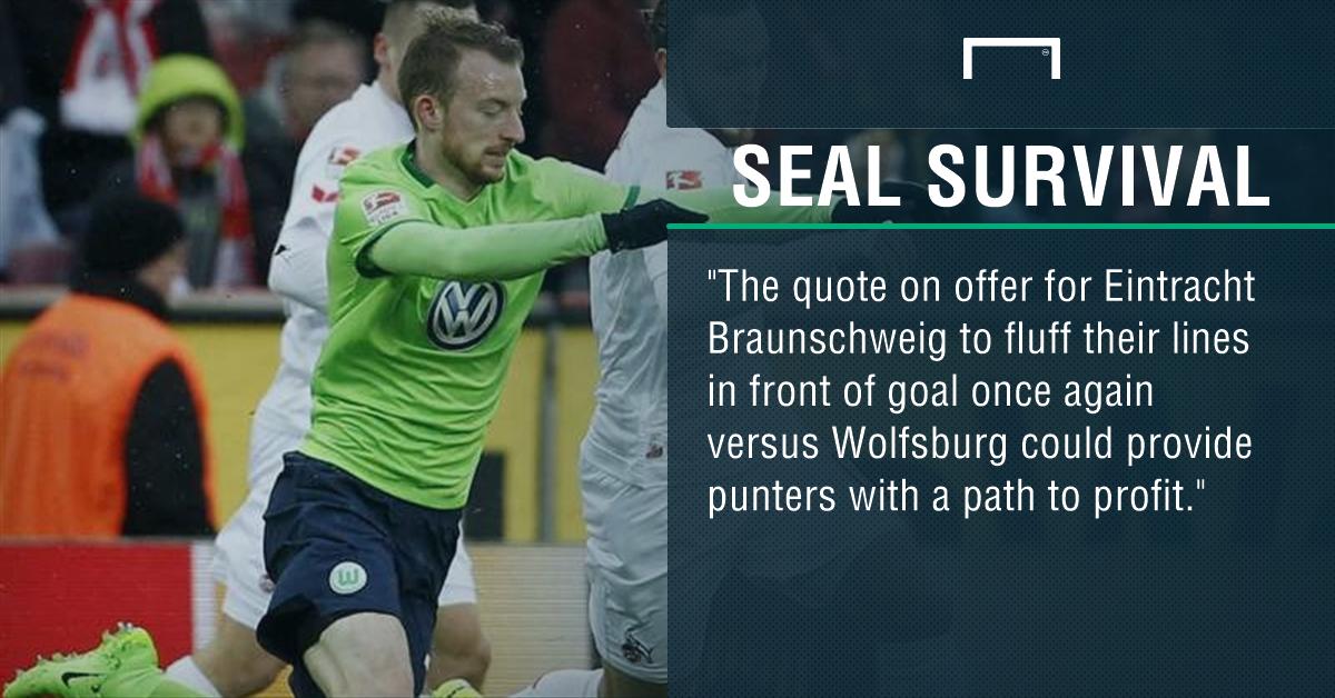 GFX Eintracht Braunschweig Wolfsburg betting