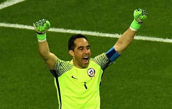 Bravo saves as many penalties in one match as he did during La Liga career