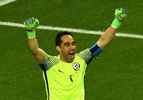 Bravo's incredible penalty save stat