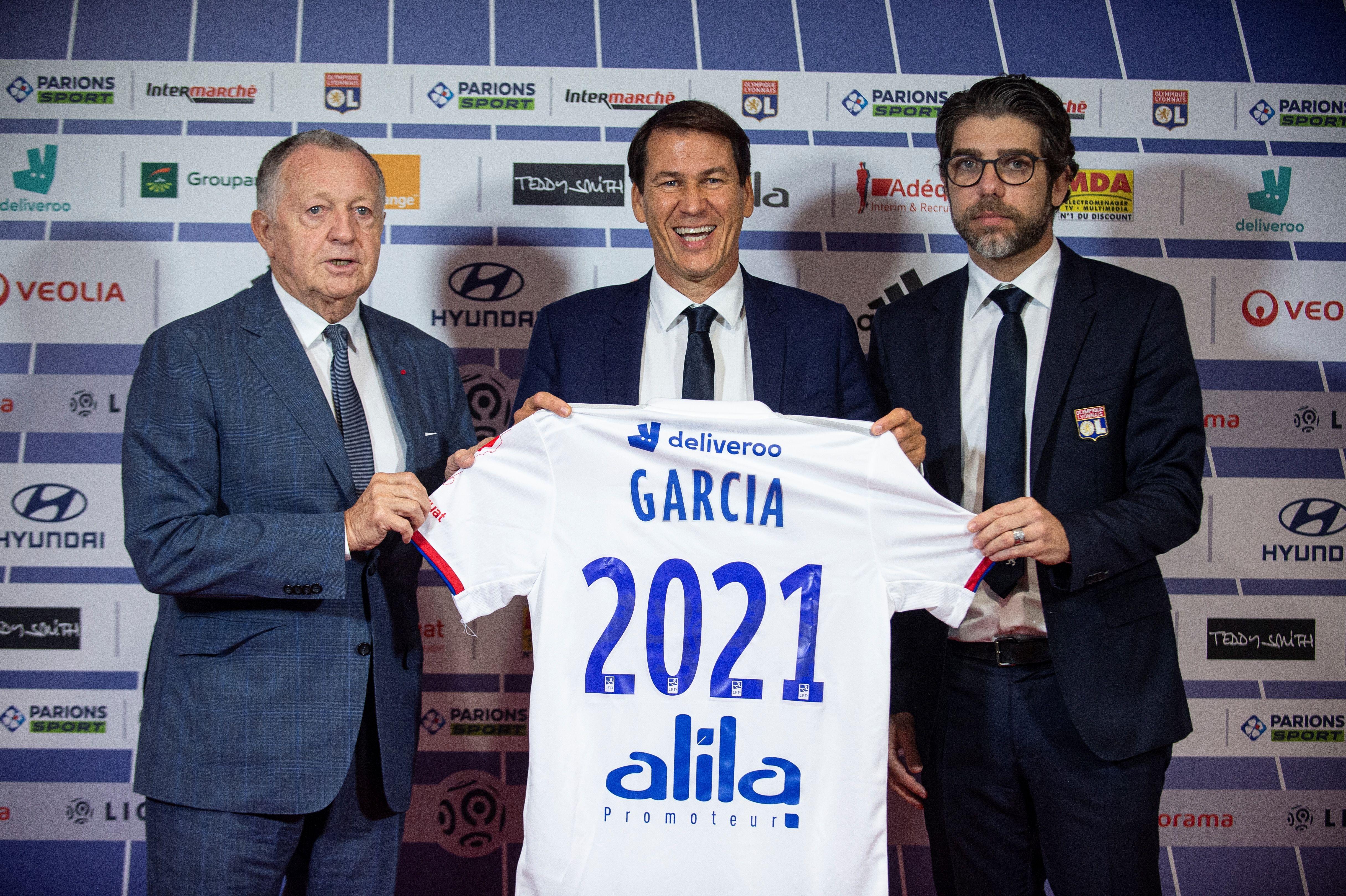 "OL - Rudi Garcia : ""Une seule motivation : faire gagner le club"""