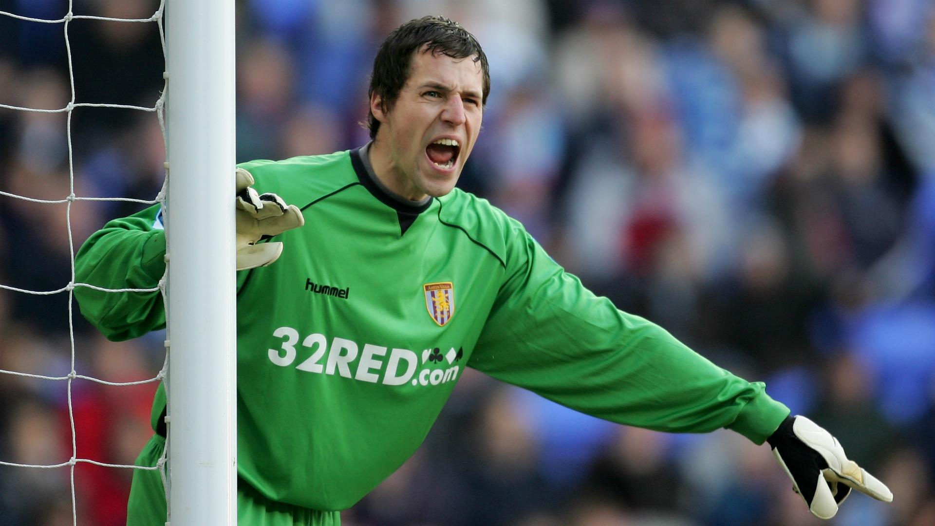 Thomas Sorensen Reading v Aston Villa Premier League 10022007