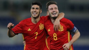 Marco Asensio Saul Niguez Spain Under-21