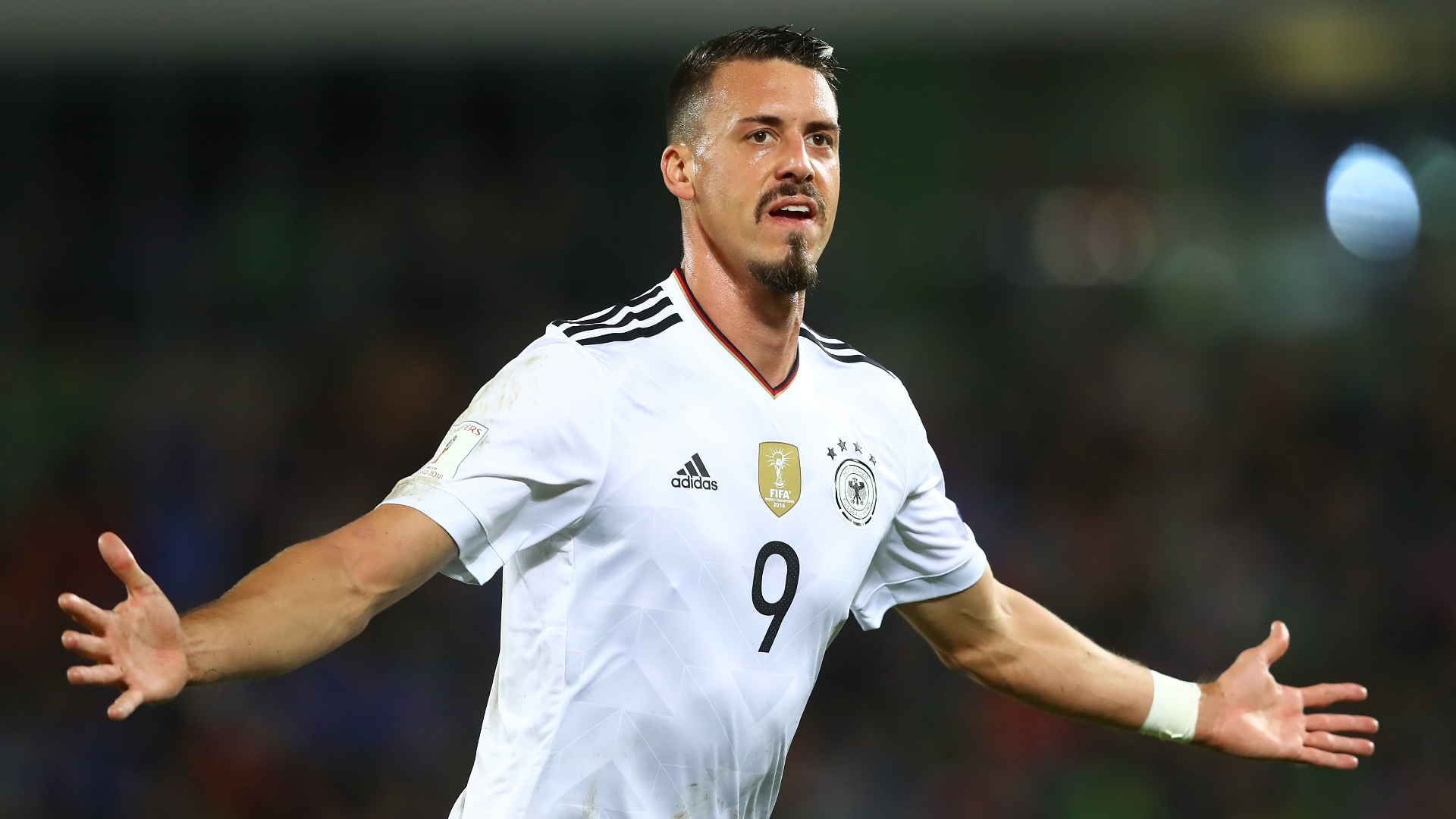 Maillot Extérieur FC Bayern München Sandro Wagner