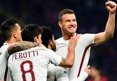 Dzeko wins Serie A top scorer prize