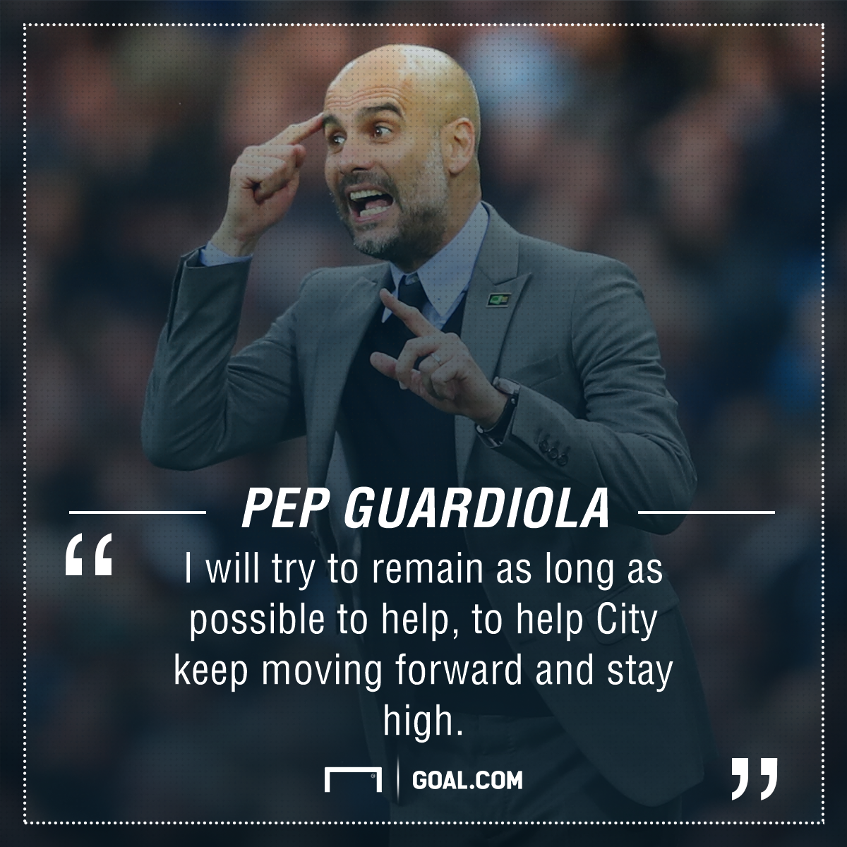 Pep Guardiola Manchester City future