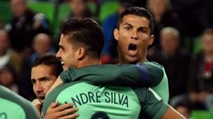 Cristiano Ronaldo Andre Silva Portugal