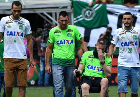 Two crash survivors in Chape squad