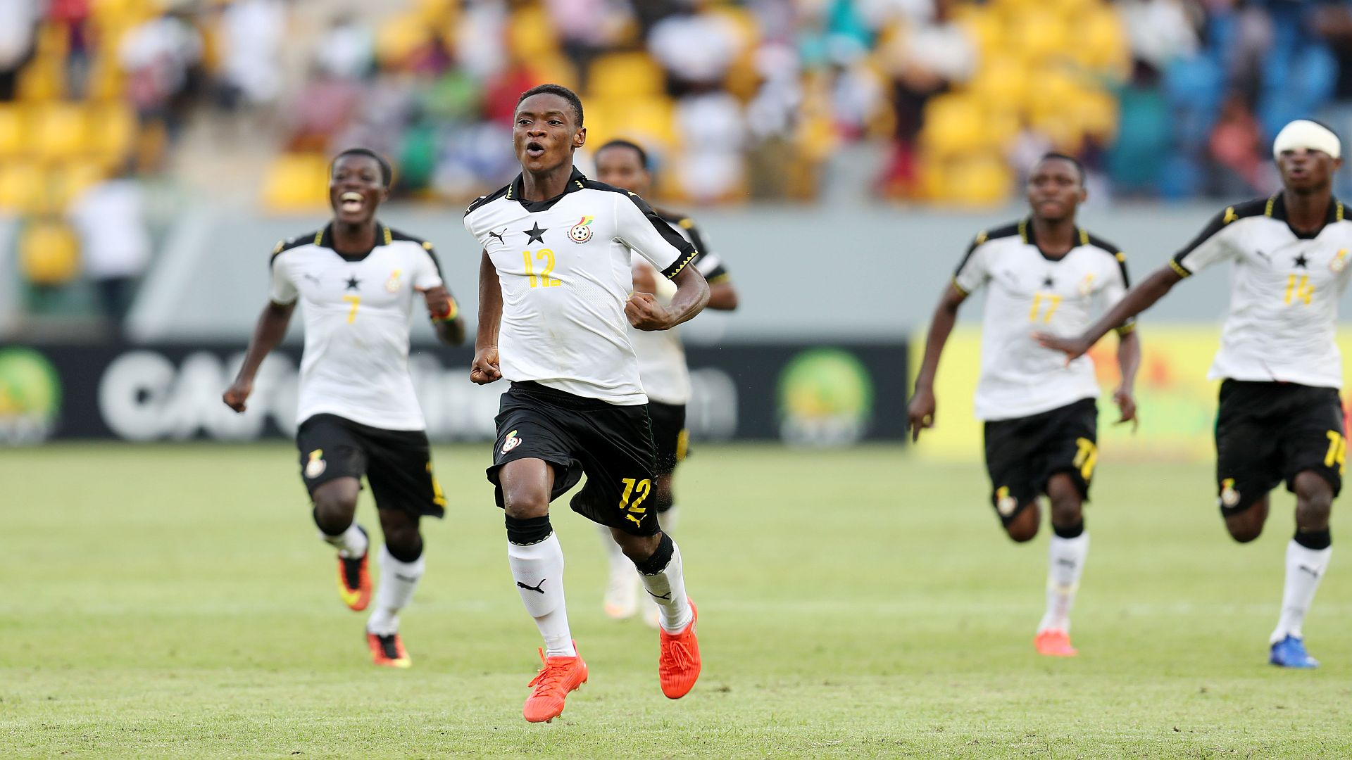 Ghana u17 v Niger u17