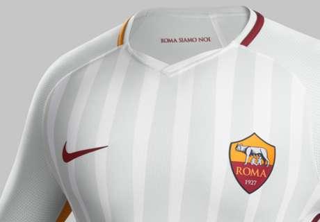 Roma, PSG, Arsenal et les nouveaux maillots des plus gros clubs européens