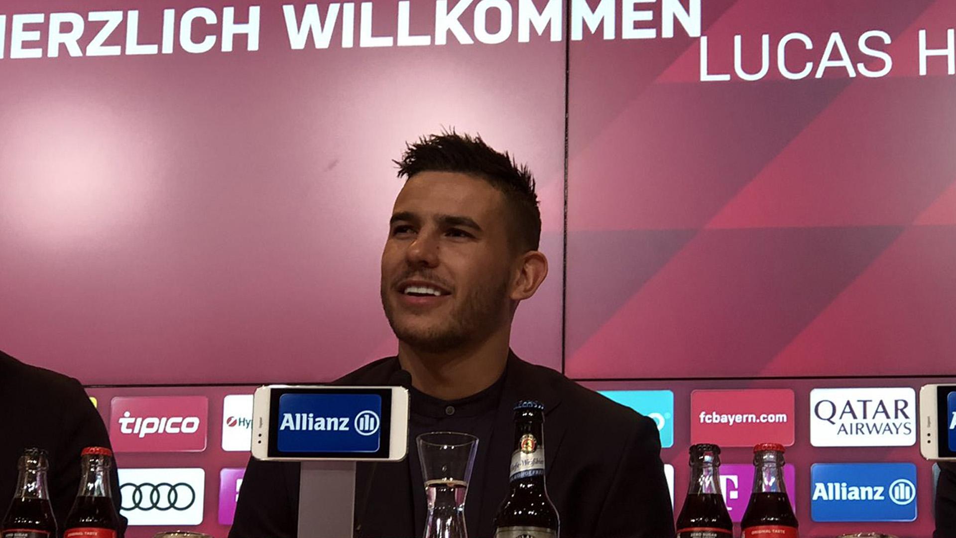 """Bayern Munich - Lucas Hernandez : """"Je débarque ici pour avoir un rôle de leader"""""""