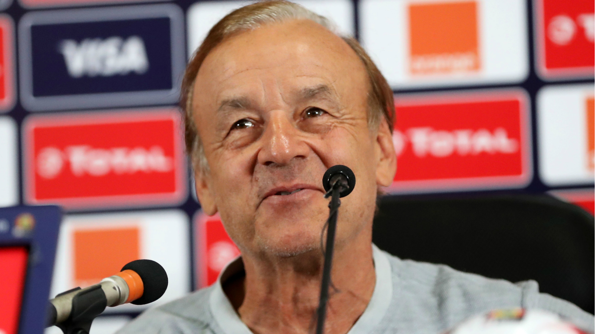 Nigeria coach Rohr reveals why he makes late substitutions