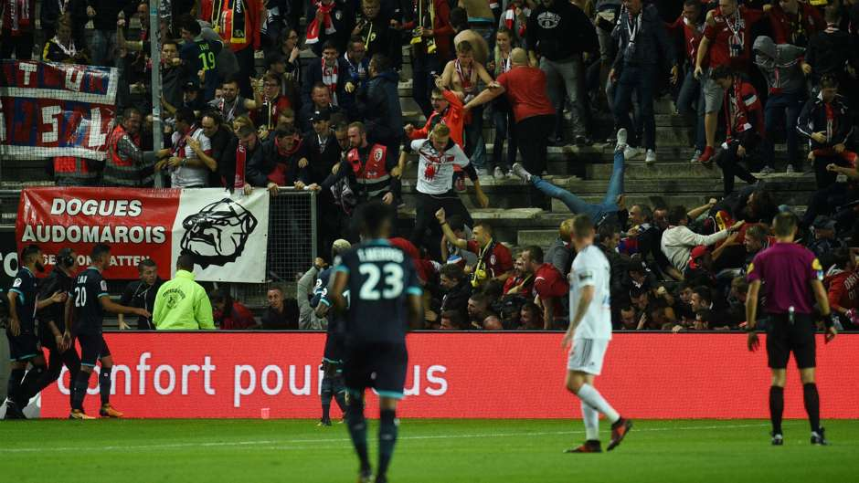 Amiens Lille barrier collapse