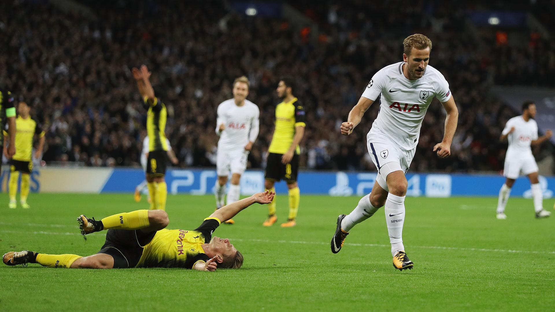 Harry Kane Tottenham Dortmund