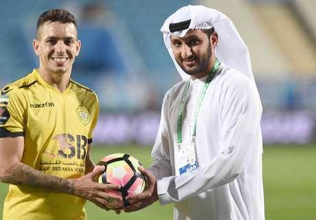 Caio bags goalscorer award