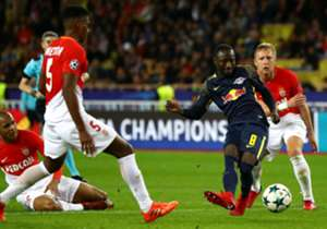 The Guinean midfielder found the back of the net as his German side dumped the French champions out of the competition