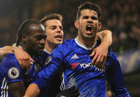 Costa, Cahill extend Chelsea's cushion