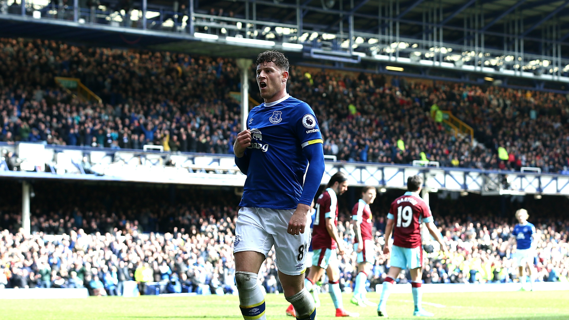 Ross Barkley Everton v Burnley Premier League 15042017