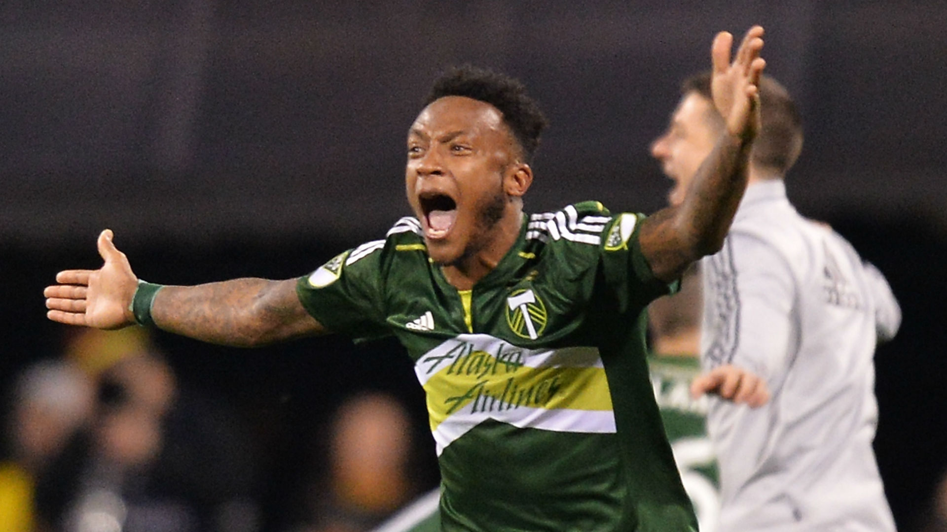 Rodney Wallace Portland Timbers MLS Cup