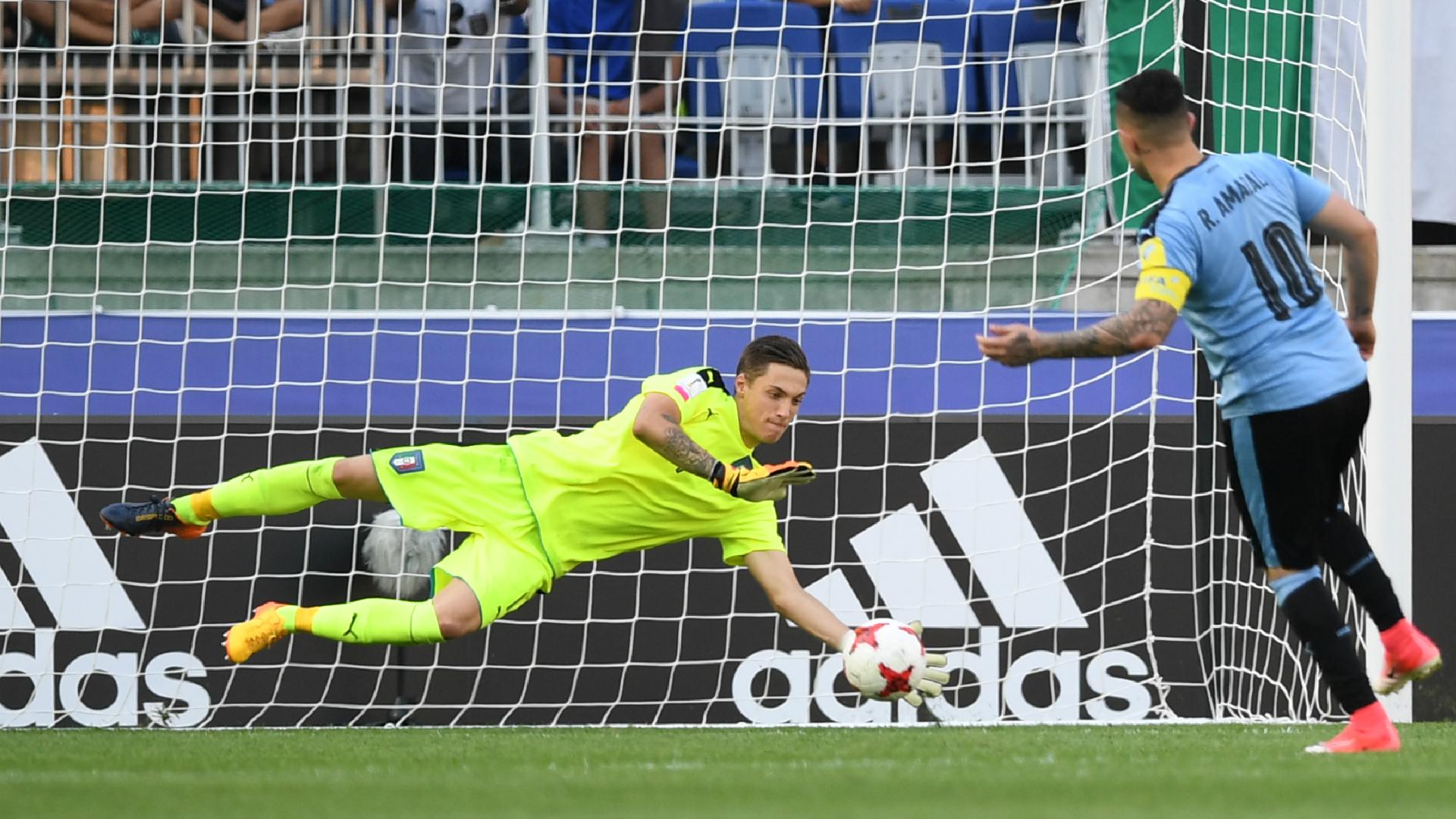 Plizzari - Uruguay-Italy U20