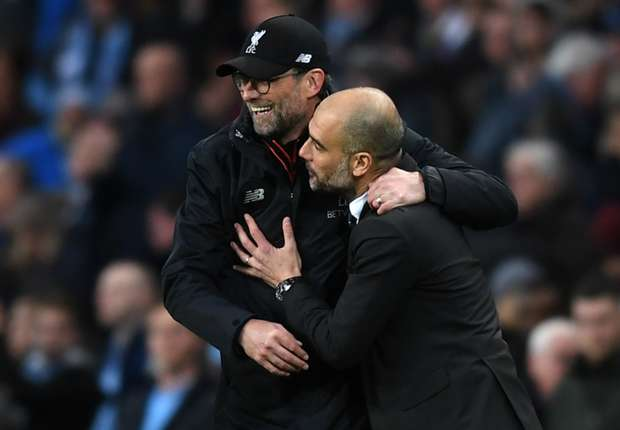 The Manchester City boss was delighted after the 1-1 draw with the Merseysiders and it is easy to see why