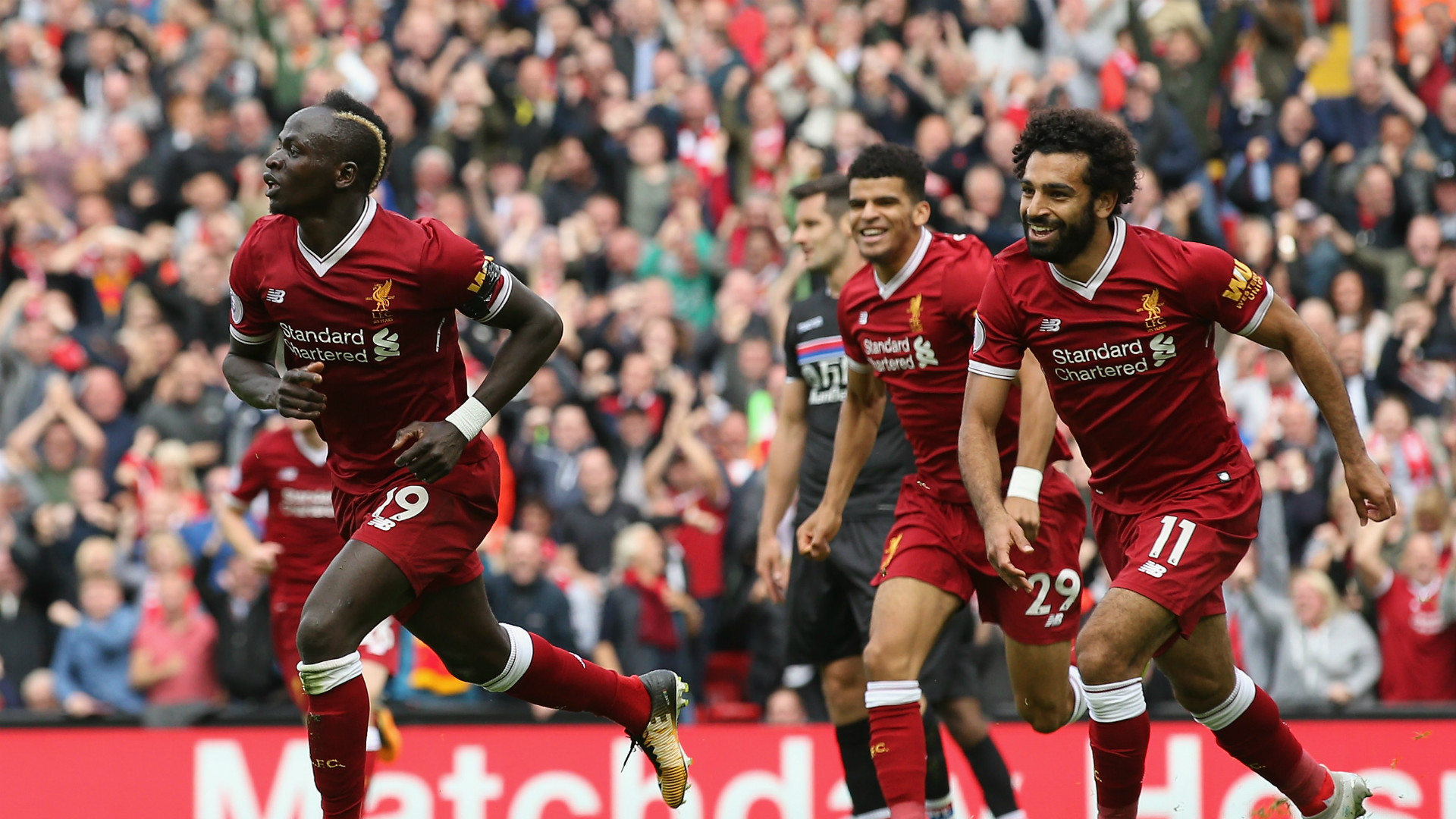 Sadio Mane Liverpool Crystal Palace Premier League