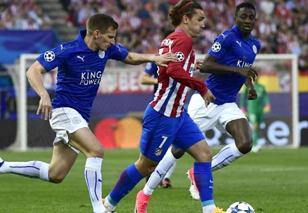 Atletico Madrid V Leicester City