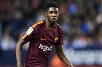 Dembele comes of age for Barca in Messi absence