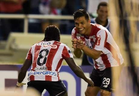 Junior goleó a Cerro Porteño y se instaló en cuartos