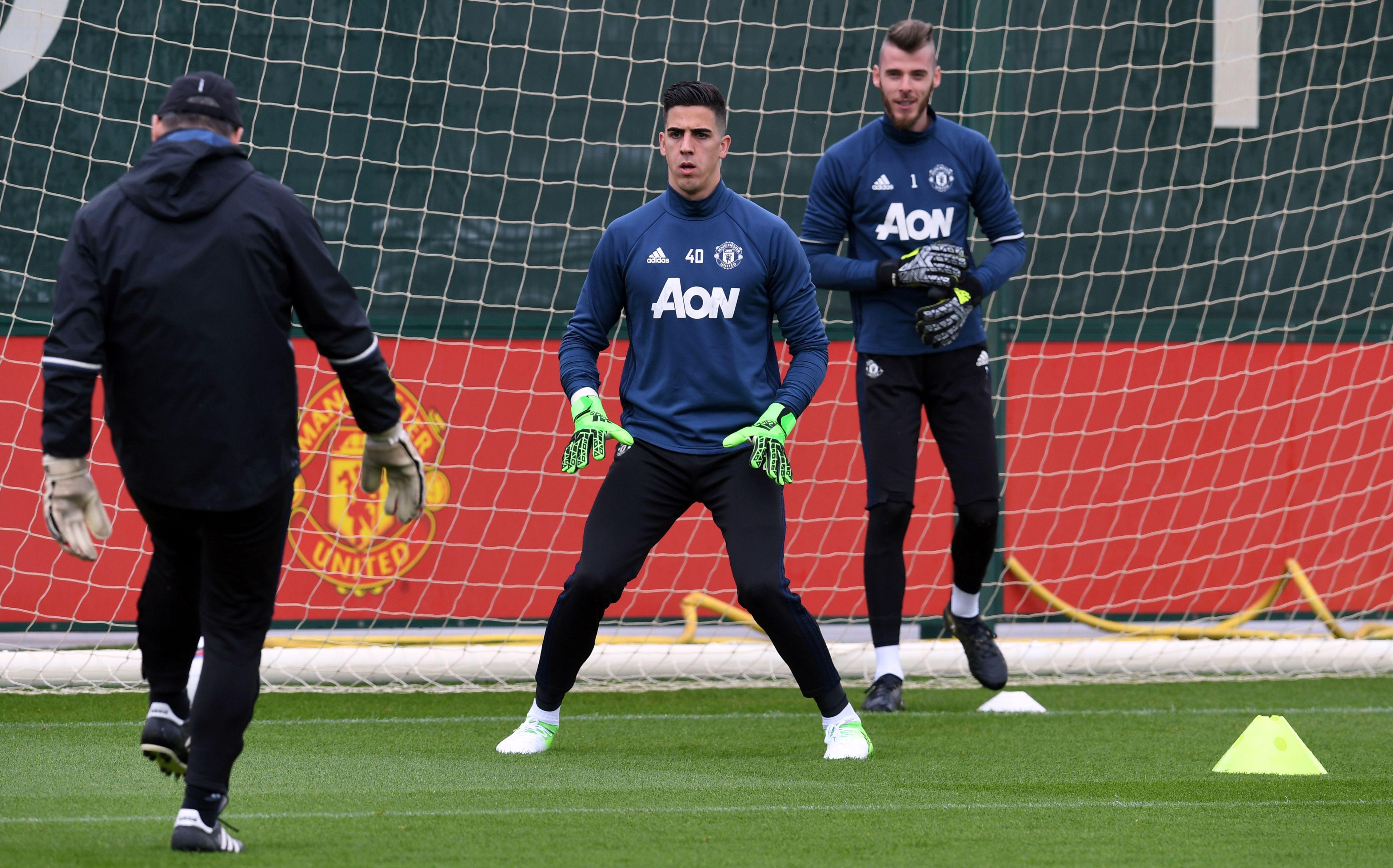 Joel Pereira David de Gea Manchester United