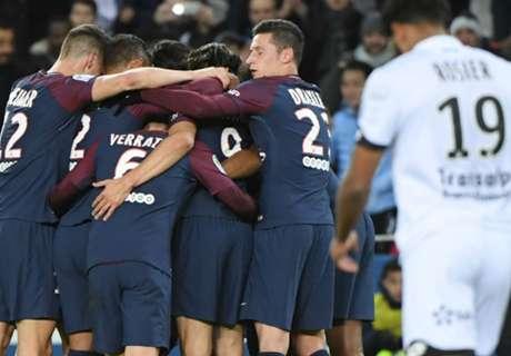 PARIS SAINT-GERMAIN'DEN TARİHİ FARK: 8-0