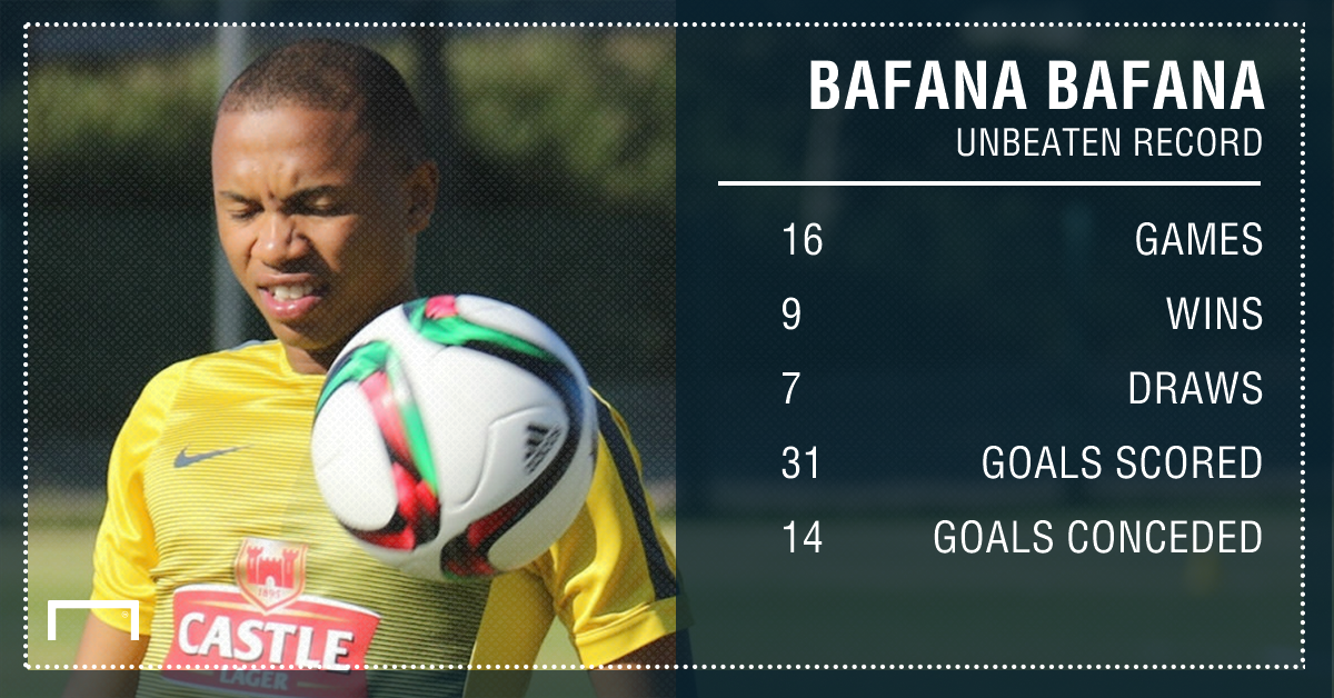 Bafana Bafana unbeaten record