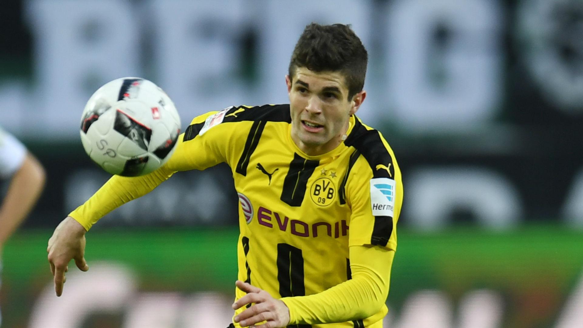 Christian Pulisic Borussia Dortmund Bundesliga 042217