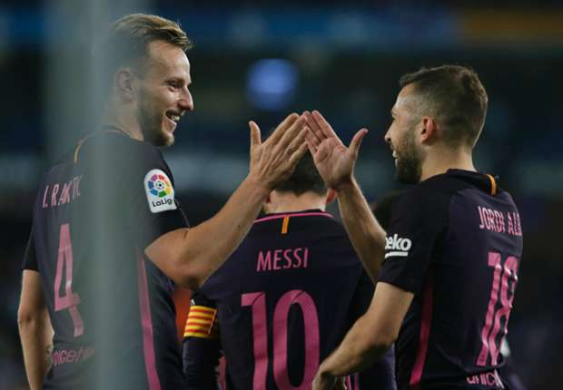 ألبا: لدي عقد مع برشلونة وأتمنى البقاء -