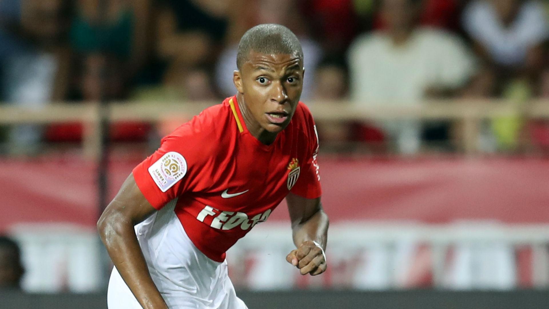 Kylian Mbappe Monaco